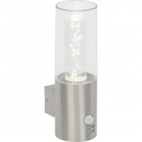 Brilliant G96285/82 Arctic Aussenwandleuchte mit Bewegungsmelder Metall/Kunststoff LED Lampen