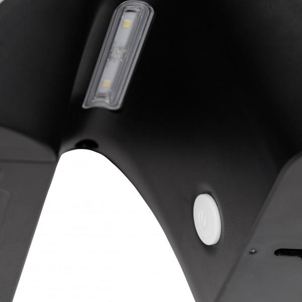 Brilliant G96320/58 Zeb Aussenwandleuchte 14cm mit Bewegungsmelder Kunststoff Beleuchtung