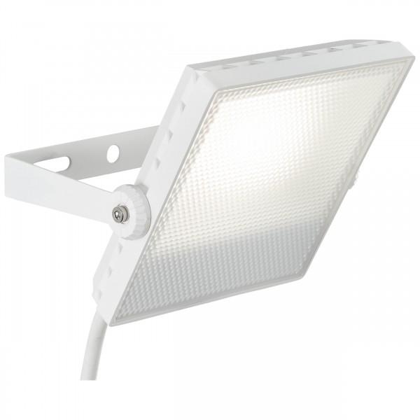 Brilliant G96322/05 Dryden Aussenwandstrahler weiss 16cm Metall/Kunststoff Leuchten