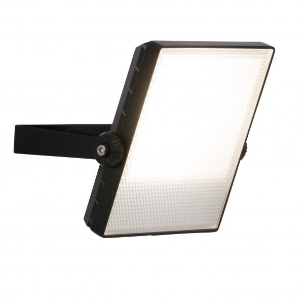 Brilliant G96322/06 Dryden Aussenwandstrahler schwarz 16cm Metall/Kunststoff LED Lampen
