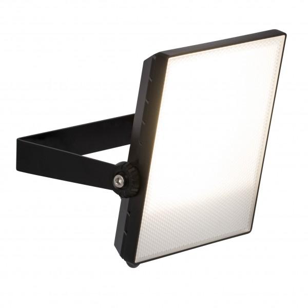 Brilliant G96323/06 Dryden Aussenwandstrahler schwarz 22cm Metall/Kunststoff LED Lampen