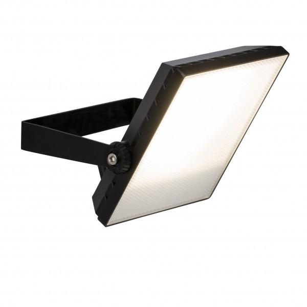 Brilliant G96323/06 Dryden Aussenwandstrahler schwarz 22cm Metall/Kunststoff schoene lampenwelt