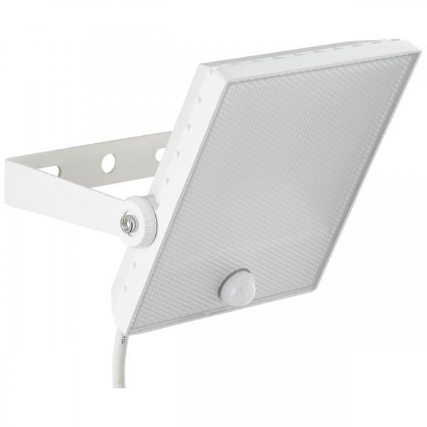 Brilliant G96325/05 Dryden Aussenwandstrahler weiss 22cm mit Bewegungsmelder Metall/Kunststoff Beleuchtung