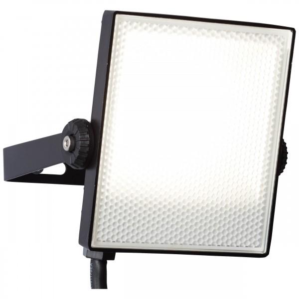 Brilliant G96329/06 Dryden Aussenwandstrahler schwarz 13cm Metall/Kunststoff LED Lampen