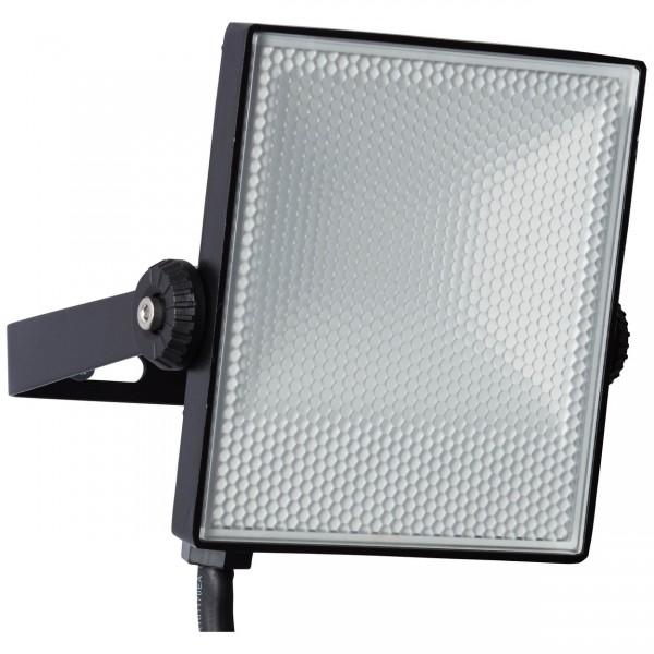 Brilliant G96329/06 Dryden Aussenwandstrahler schwarz 13cm Metall/Kunststoff schoene lampenwelt