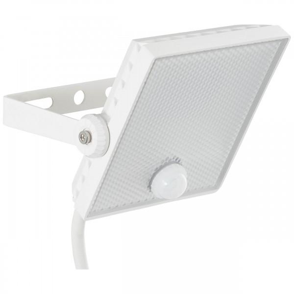 Brilliant G96330/05 Dryden Aussenwandstrahler weiss 13cm mit Bewegungsmelder Metall/Kunststoff Beleuchtung