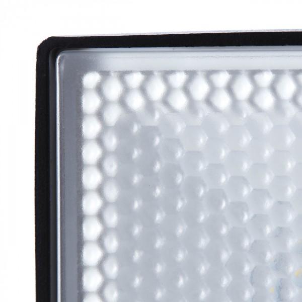 Brilliant G96330/06 Dryden Aussenwandstrahler schwarz 13cm mit Bewegungsmelder Metall/Kunststoff Beleuchtung