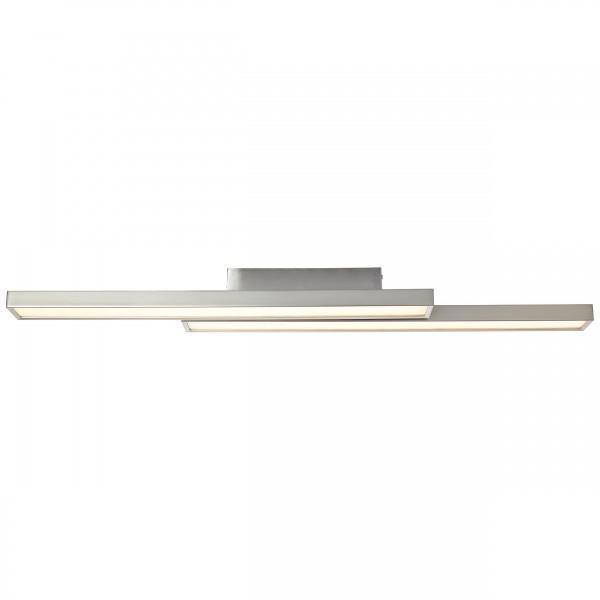Brilliant G96814/68 Sword WiZ Deckenleuchte, 2-flammig Metall/Kunststoff Beleuchtung