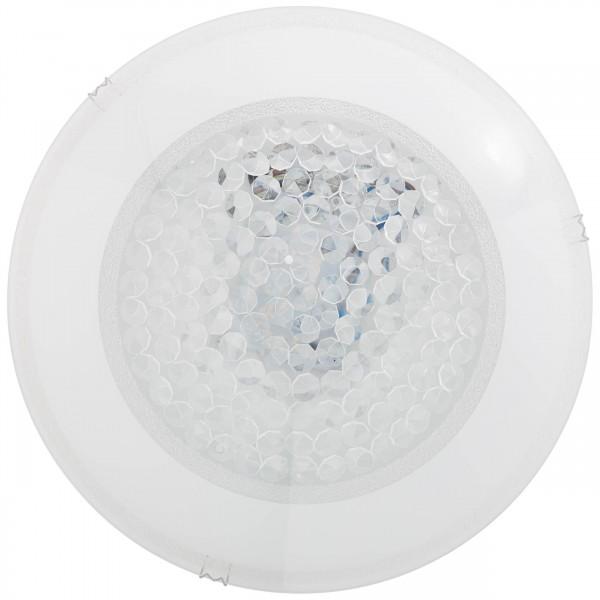 Brilliant G96863/85 Vera Wand- und Deckenleuchte 30cm Glas/Metall Beleuchtung
