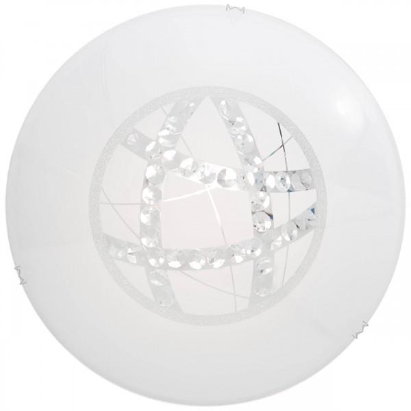 Brilliant G96869/85 Lamio Wand- und Deckenleuchte 40cm Glas/Metall schoene lampenwelt