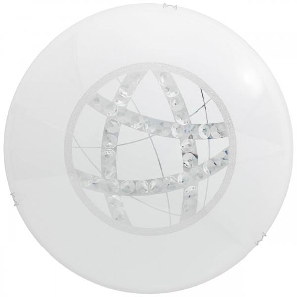 Brilliant G96869/85 Lamio Wand- und Deckenleuchte 40cm Glas/Metall Leuchten