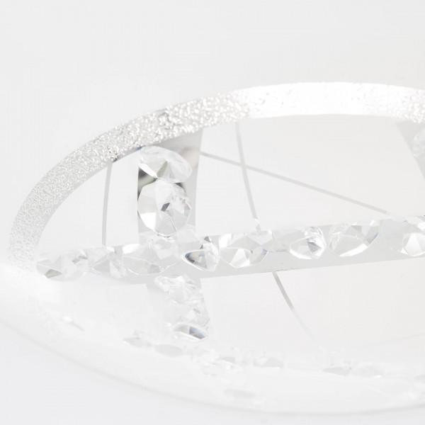 Brilliant G96869/85 Lamio Wand- und Deckenleuchte 40cm Glas/Metall Beleuchtung
