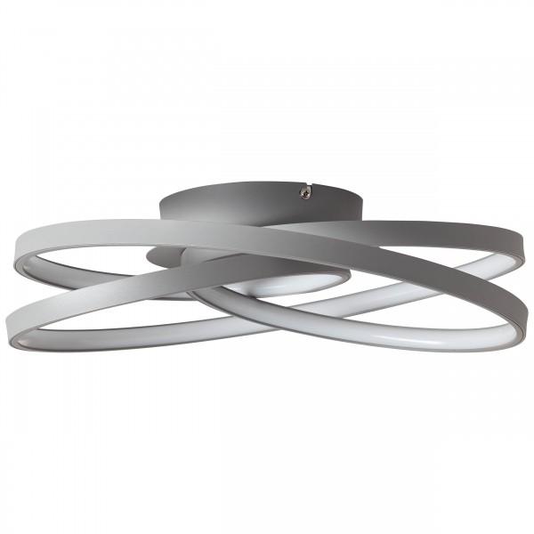 Brilliant G96894/22 Labyrinth Deckenleuchte 40cm Metall/Kunststoff LED Lampen