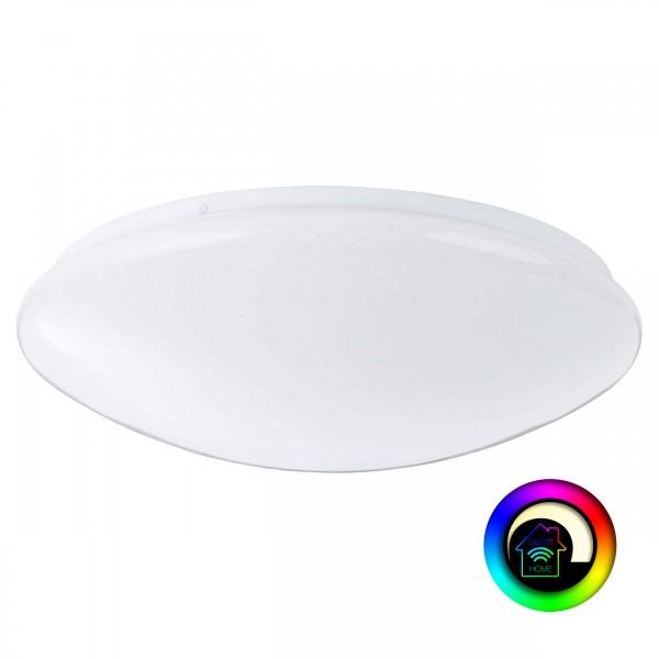 Brilliant G96967/05 Brandie Wand- und Deckenleuchte 39cm Metall/Kunststoff LED Lampen