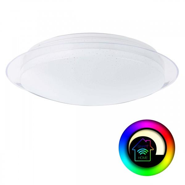 Brilliant G96968/05 Duffy Wand- und Deckenleuchte 45cm Metall/Kunststoff LED Lampen