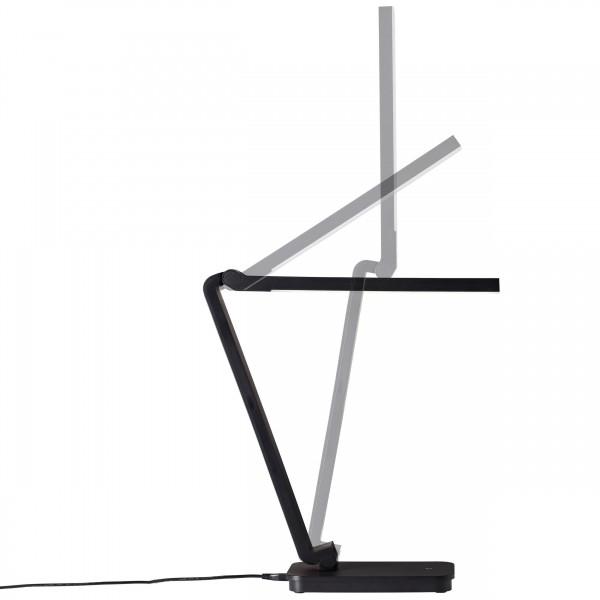 Brilliant G99027/06 Tori Tischleuchte Kunststoff schwarz schoene lampenwelt