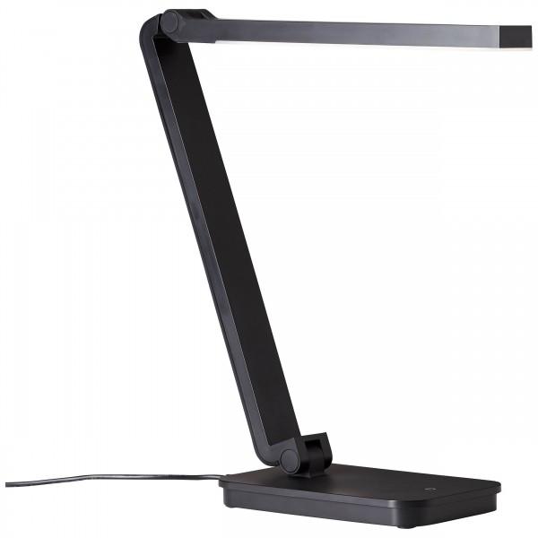 Brilliant G99027/06 Tori Tischleuchte Kunststoff schwarz Beleuchtung