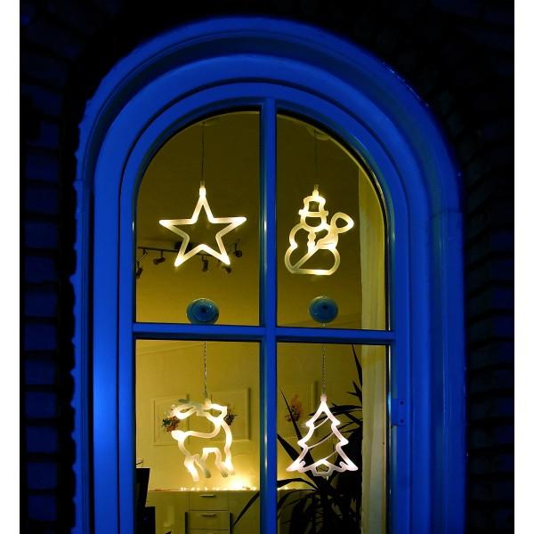 LED Fensterbild Rentier Konstsmide bei LED Universum