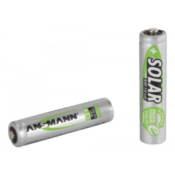 ANSMANN 2 Nickel-Metallhydrid Akkus Micro AAA, maxE im 2er Blister