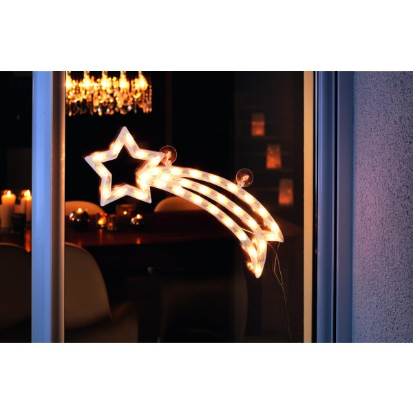 Konstsmide 2160-010 LED Fensterbild Komet ??? Anwendungsbeispiel