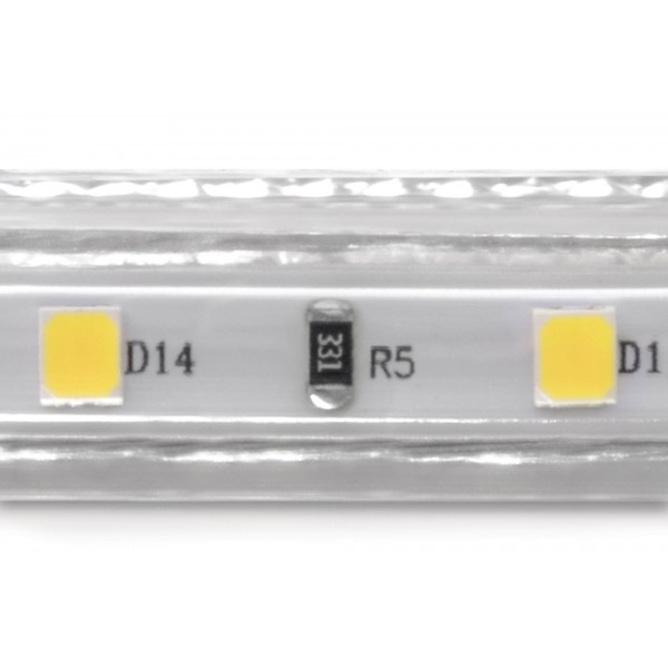Professional High Power Kaltwei?? 230V LED Streifen - Detail LED