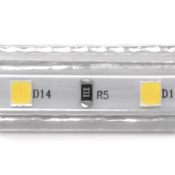 Professional High Power Neutralwei?? 230V LED Streifen - Detail LED