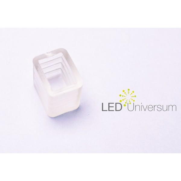 Netzkabel für einfarbige LED Streifen, 230V inkl. Steckpin und Endkappe (Default)