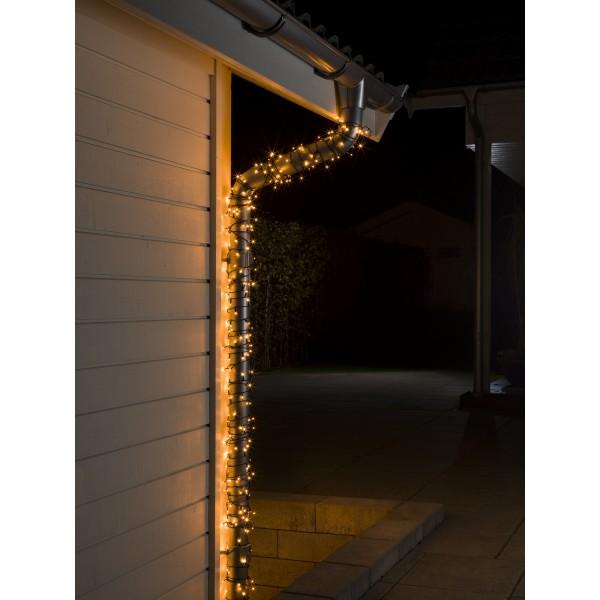 LED Microlichterkette 20 Dioden schwarzes Kabel Konstsmide bei LED Universum