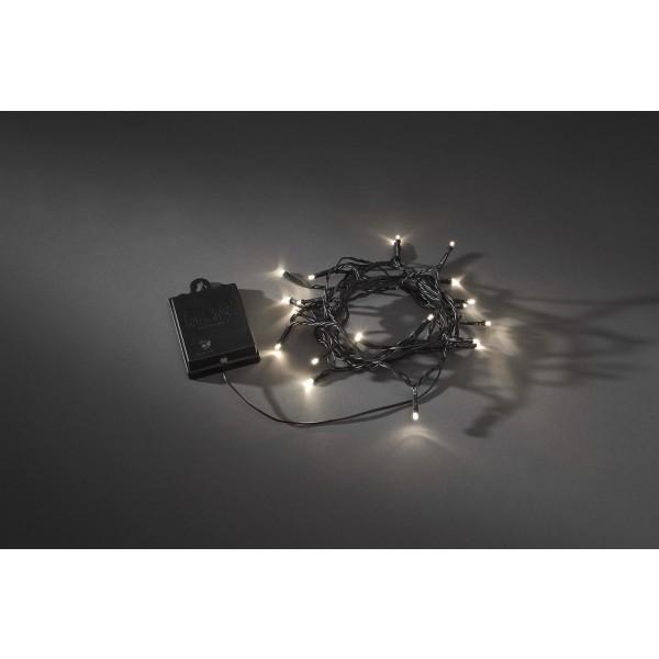 LED Microkette batteriebetrieben mit Lichtsensor Konstsmide bei LED Universum