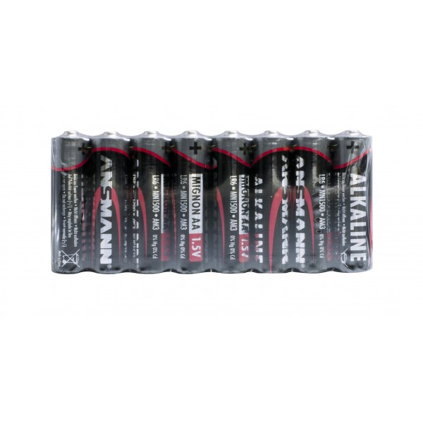 ANSMANN Alkaline Batterie Mignon AA - 8er Pack