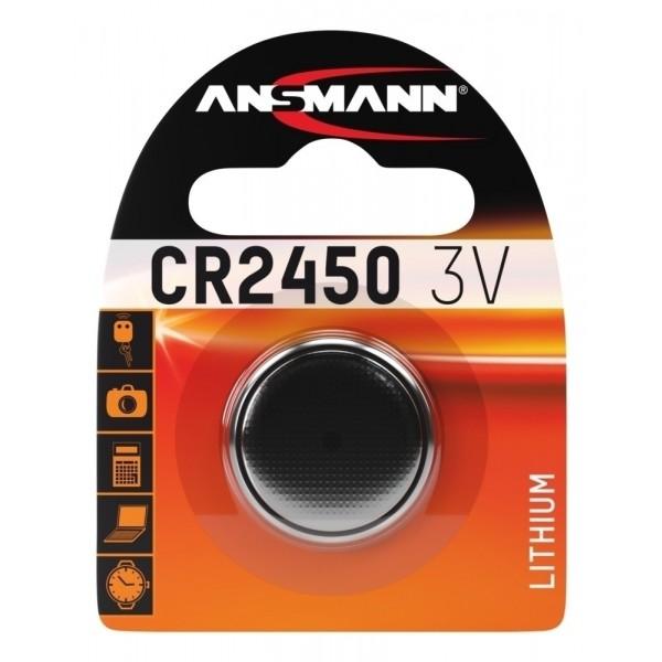 Lithium Knopfzelle CR2450 - Verpackung