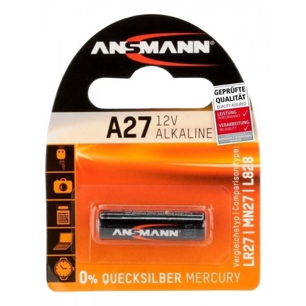 ANSMANN Alkaline Batterie A27 - Verpackung