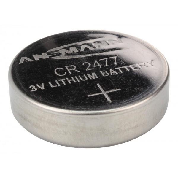 ANSMANN Lithium Knopfzelle CR2477
