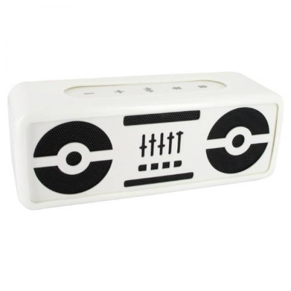 BeeWi BBS305A1 BlasterBee Bluetooth Mini Stereo-Lautsprecher (2x 2,5 Watt) weiß