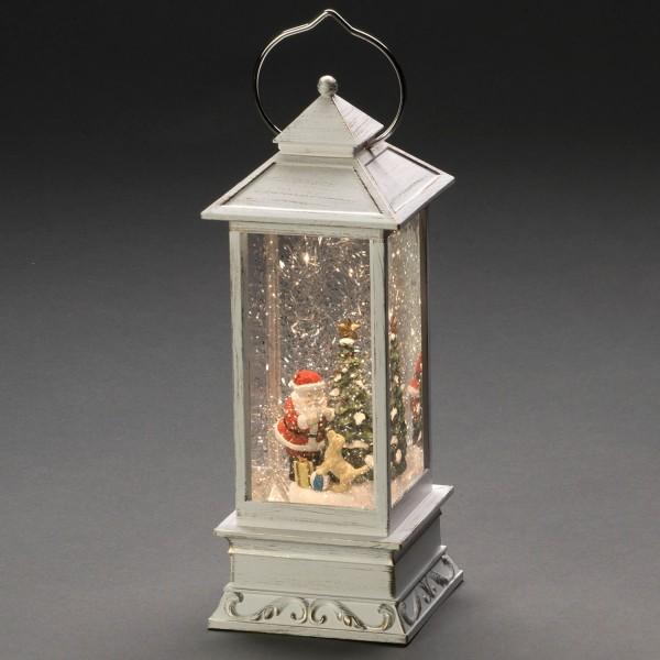 Konstsmide 4364-200 LED Wasserlaterne Weihnachtsmann