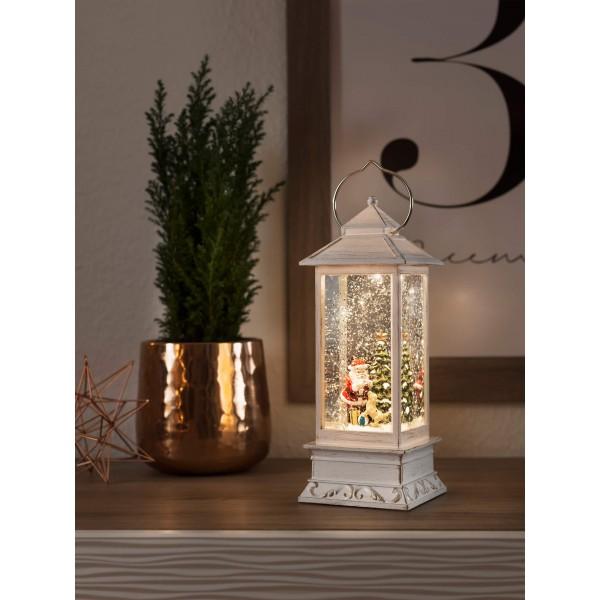 Konstsmide 4364-200 LED Wasserlaterne Weihnachtsmann – Anwendungsbeispiel