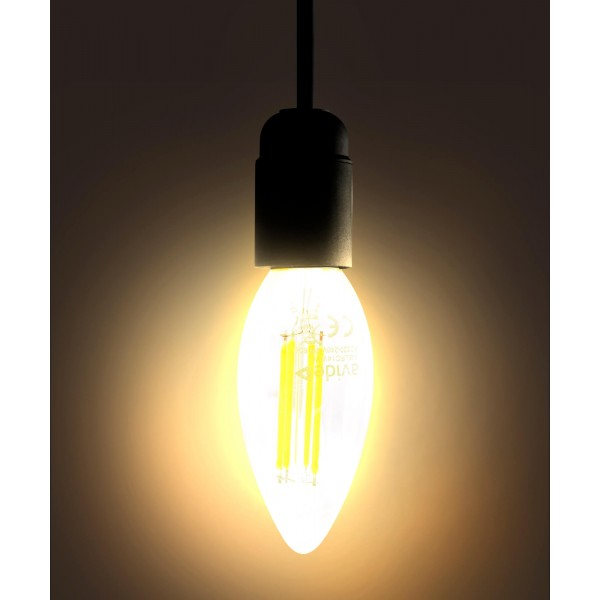 4W LED Filament Kerze - warmwei?? - E14