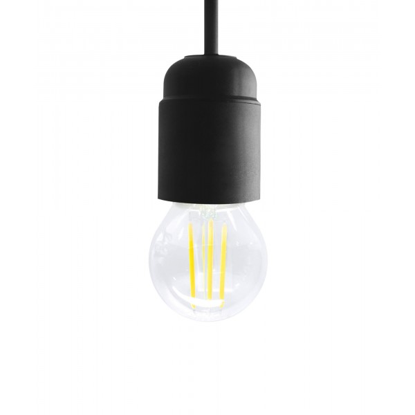 4W LED Filament Lampe - warmweiß - E27