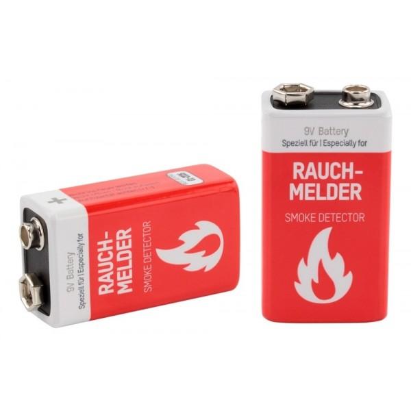 ANSMANN Lithium longlife Rauchmelder Batterien Block E / 1604LC im 1er Blister