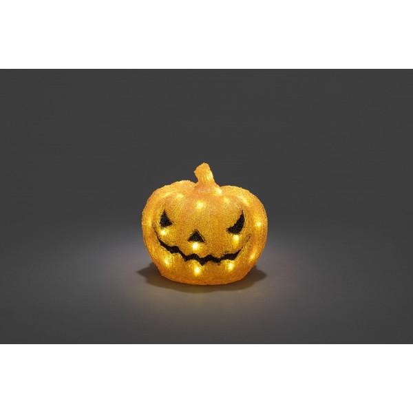 LED Acryl K??rbis Halloween Deko Konstsmide bei LED Univsersum