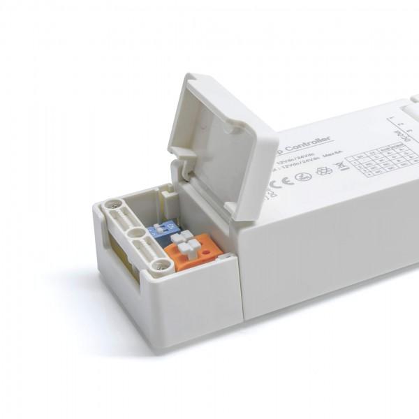 ZigBee Controller Detailbild Anschlussklemmen vorn