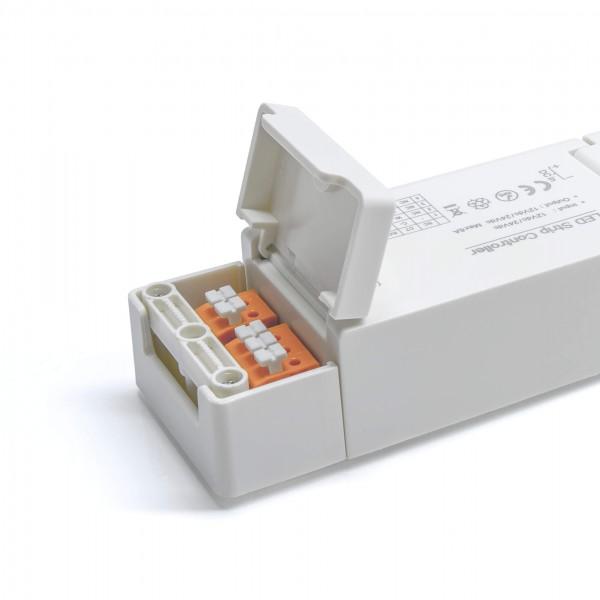 ZigBee Controller Detailbild Anschlussklemmen hinten