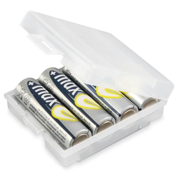 ANSMANN Akkubox 4 (Batterien NICHT im Lieferumfang enthalten)