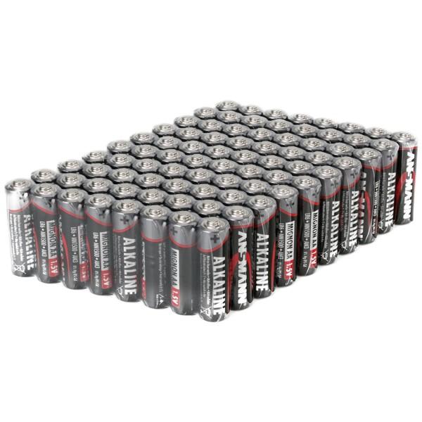ANSMANN Alkaline Batterie Mignon AA - 80er Pack