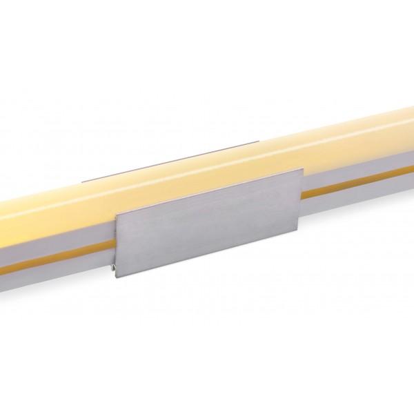 Aluminium U Schelle mit Neonflex Streifen