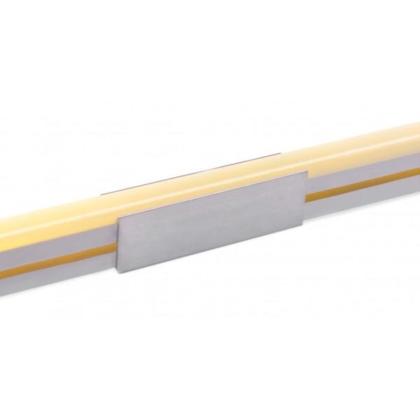Aluminium U Schelle für schmale Neonflex Streifen - Anwendung