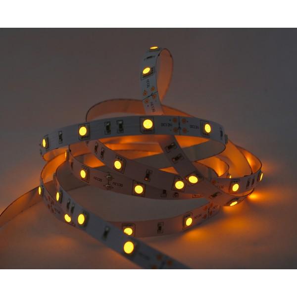 LED Treppenbeleuchtung - Beispiel Farbwiedergabe - orange