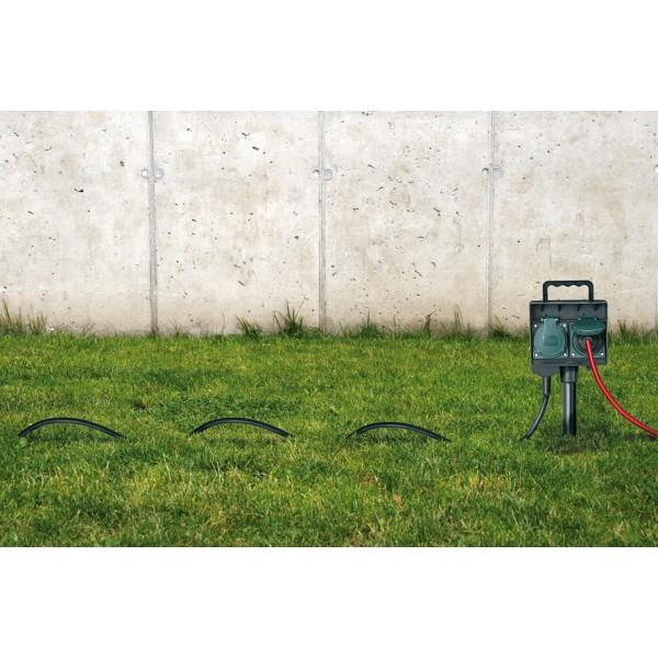 Brennenstuhl Gartensteckdose mit Erdspie?? IP44 Anwendungsbeispiel