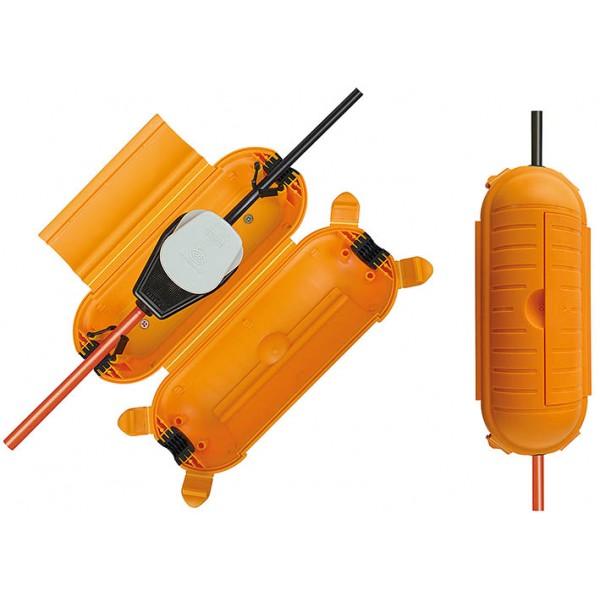 Brennenstuhl Safe-Box Schutzkapsel f??r Kabelverbindungen, IP44, extra gro?? - Anwendungsbeispiel
