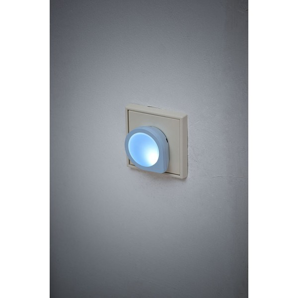 LED Nachtlicht blau leuchtend